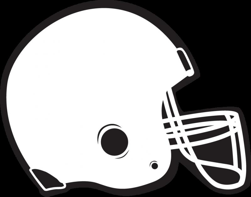 800x630 Football Outline Football Helmet Outline Clipart
