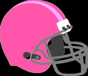 298x258 Pink Football Helmet Clip Art