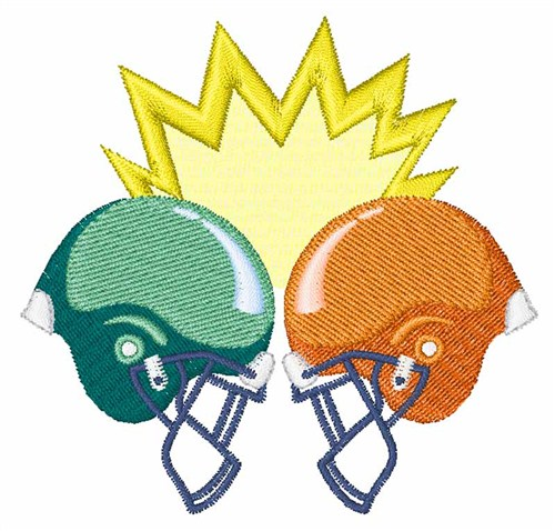500x478 Sports Embroidery Design Football Helmets From Hopscotch
