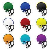 170x170 Football Helmet Clip Art