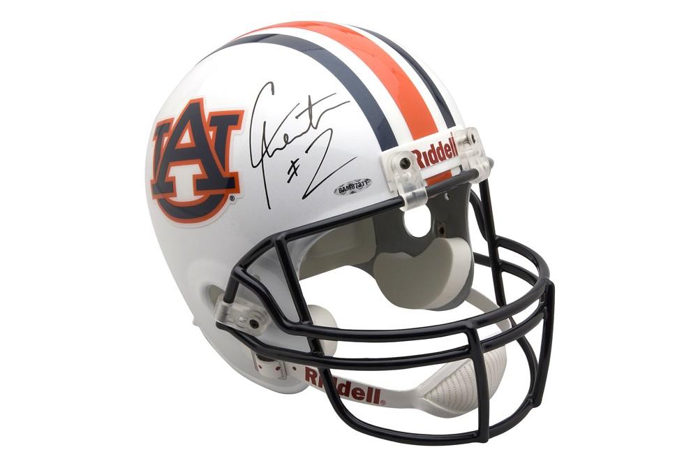 1000x667 Newton Autographed Replica Auburn Football Helmet