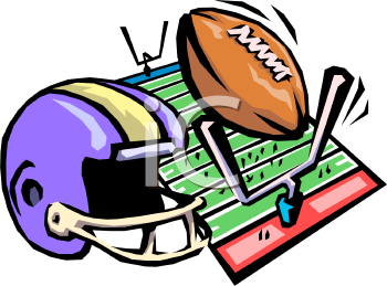 350x259 American Football Team Clipart