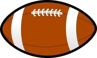 322x195 Football Clipart