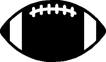 344x200 Chevron Football Clipart
