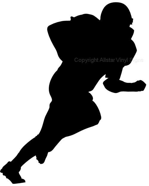 500x622 Football Silhouette Clip Art 101 Clip Art
