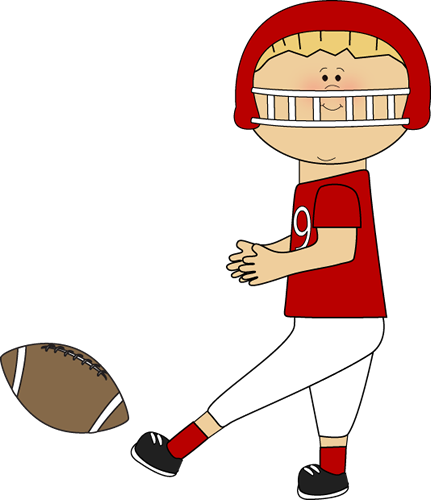 431x500 Best Playing Football Clipart