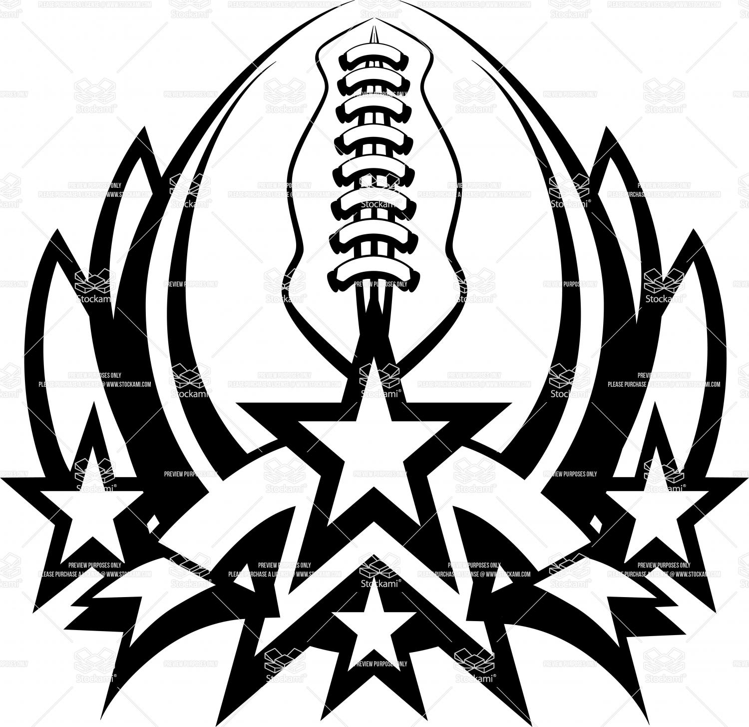 1500x1455 Football Laces Clipart Black And White