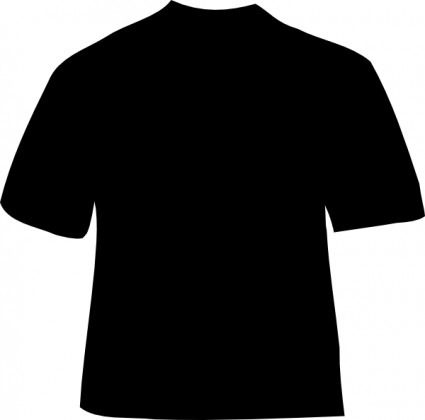 425x420 Football jersey clip art shirt outline free vector for free