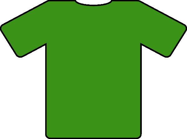 600x446 Green Jersey Clip Art