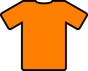 300x243 Orange Football Top Clip Art