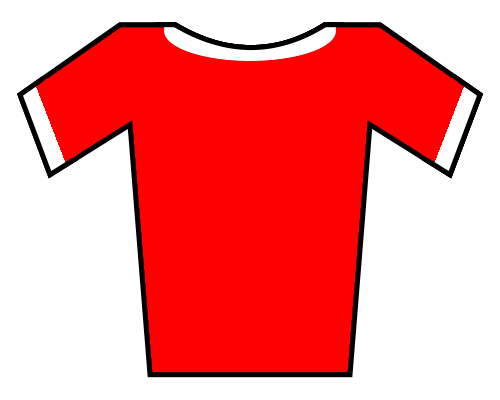 500x400 Red Clipart Football Shirt