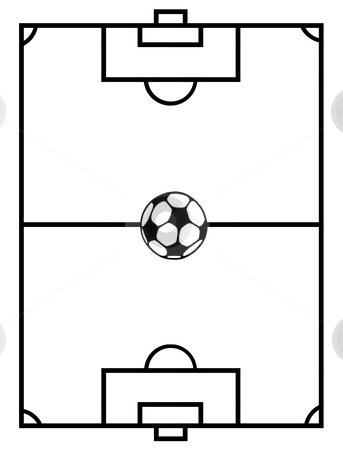 343x450 Football Pitch Clip Art