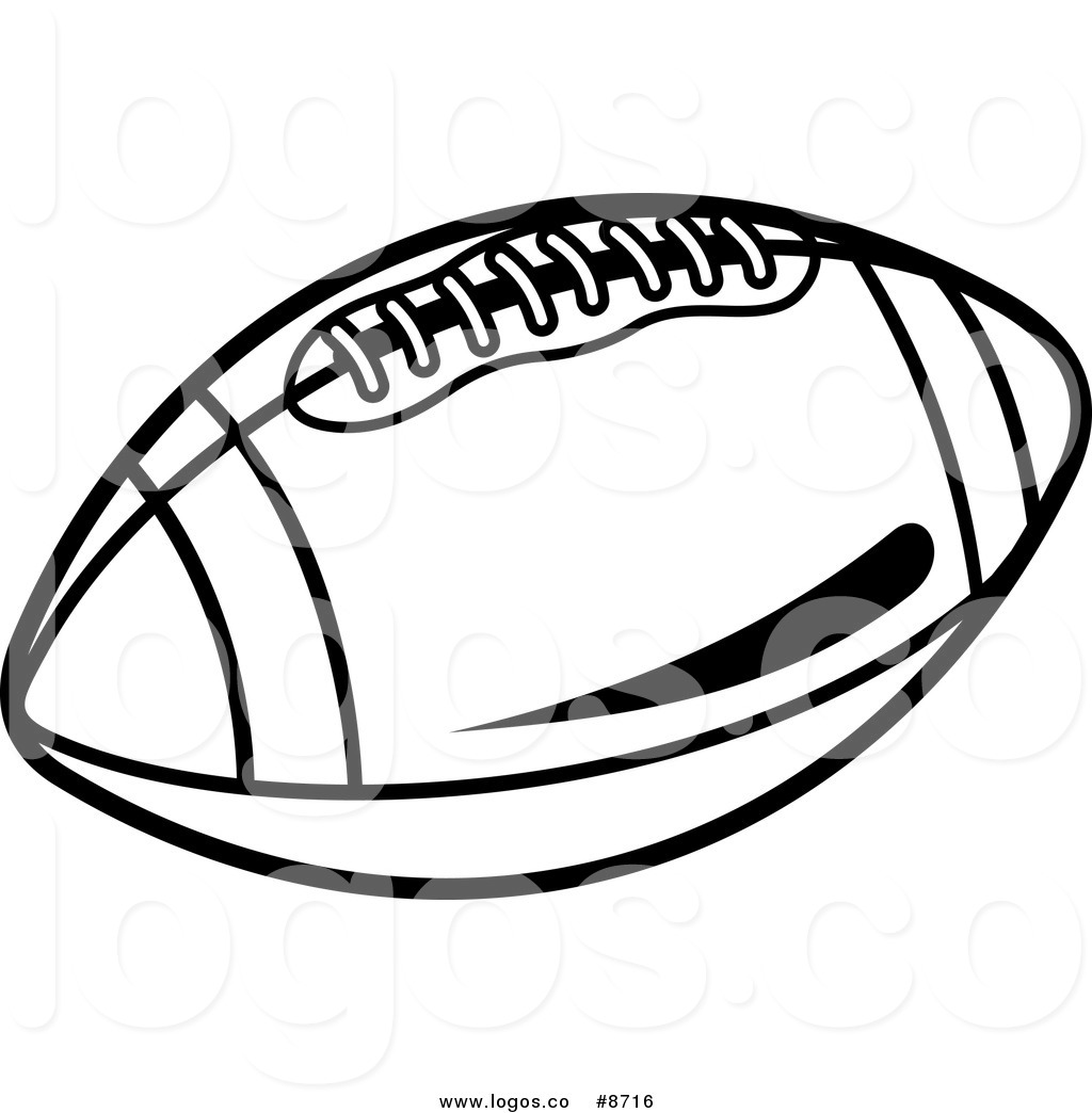 football laces clipart black and white free download best football