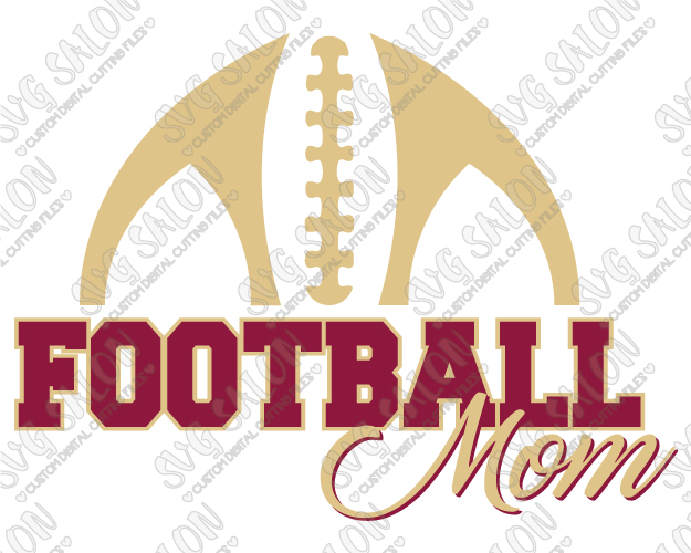 625x500 Football Mom Laces Svg Cut File Set For Custom Football Mom Shirts