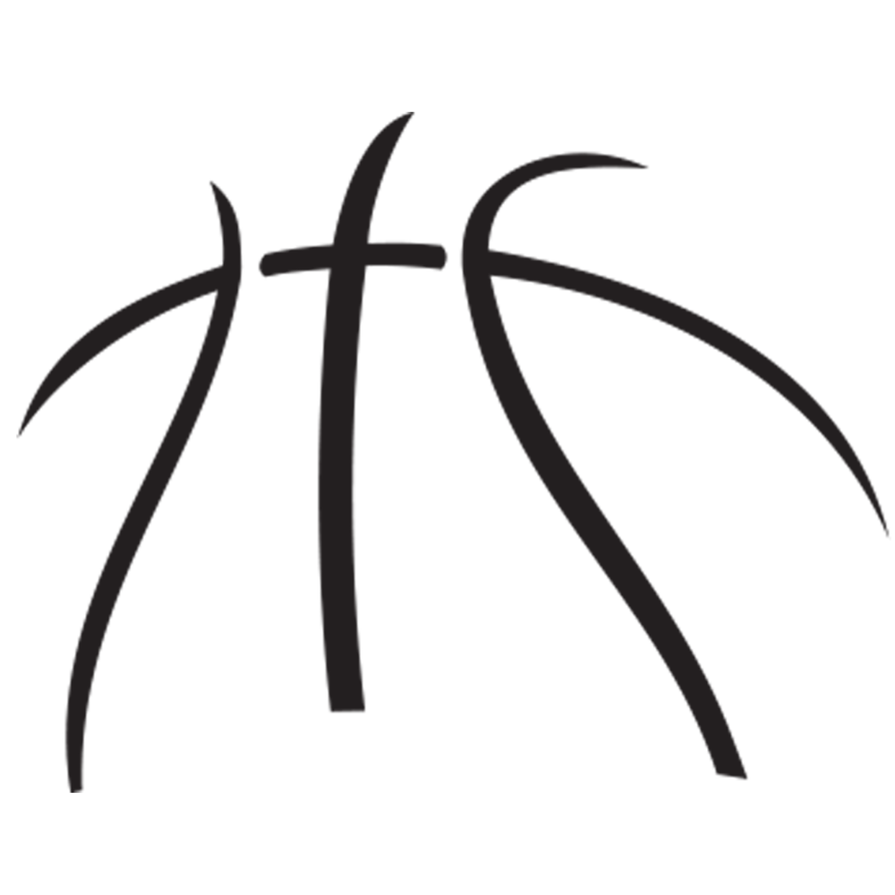1000x1000 Basketball Laces Clipart