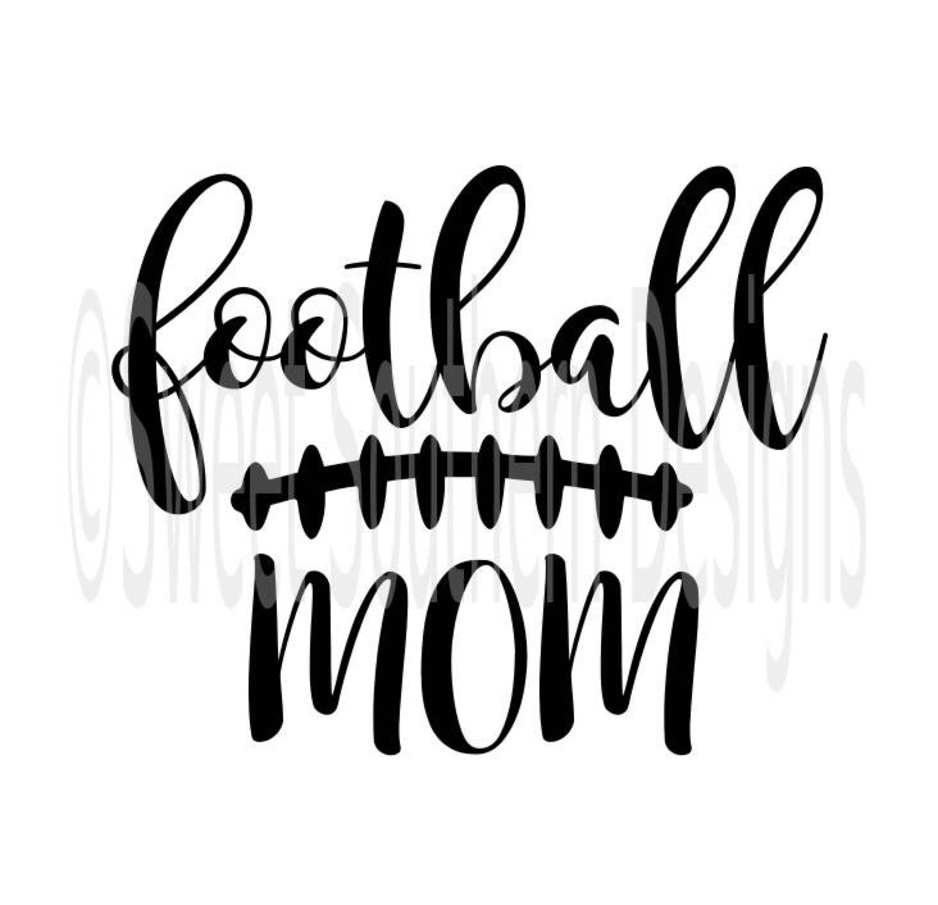 3000x2894 Football Mom Laces Fall Svg Pdf Dxf Instant Download Design