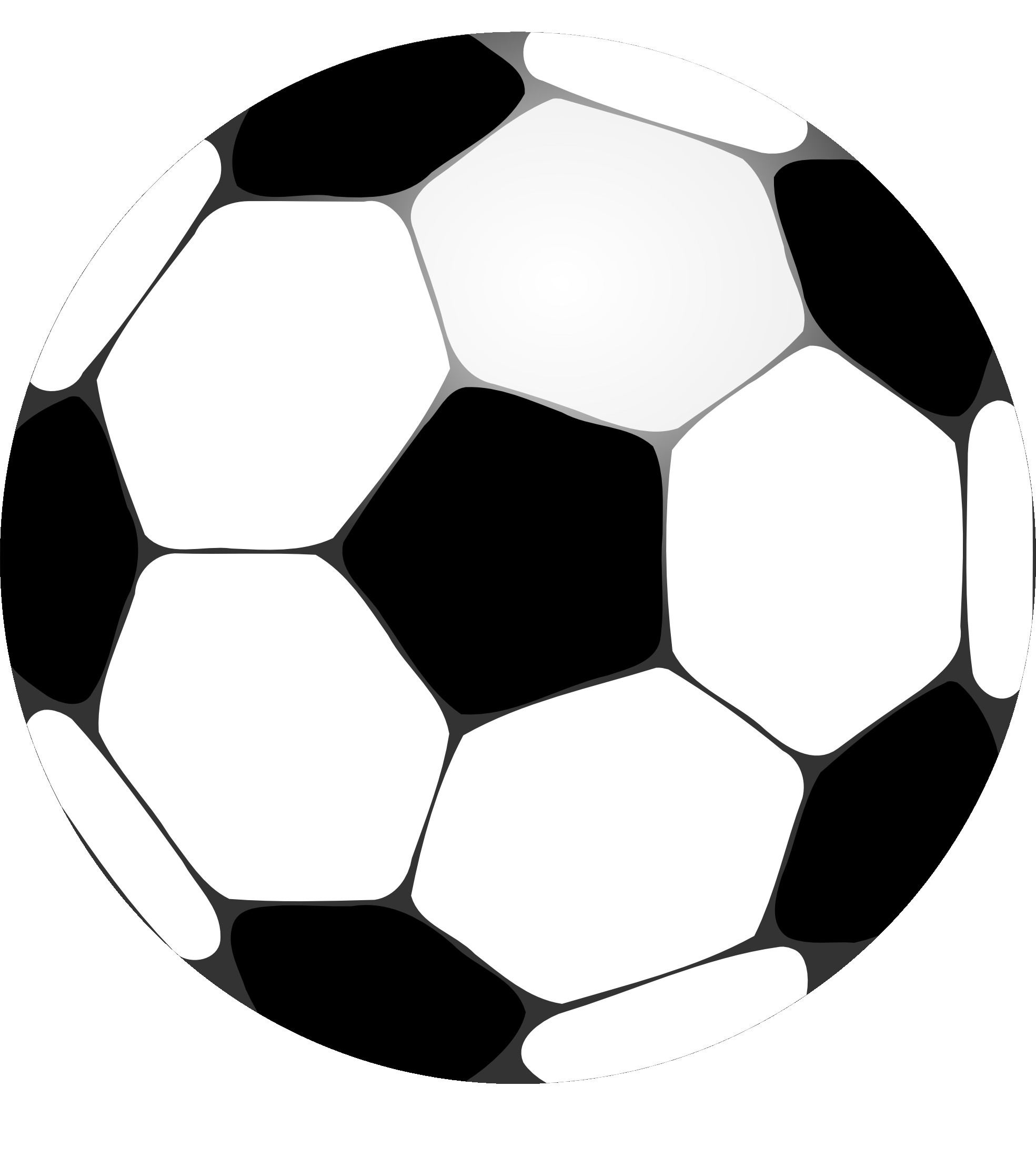 1969x2196 Free Football Clipart Black And White Image