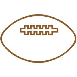 266x266 Football Outline Clipart Free To Use Clip Art Resource