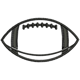 340x340 Football Outline Football Laces Outline Free Clipart Images