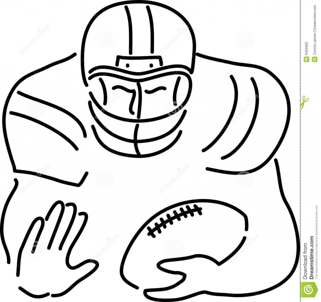 1024x966 Cartoon Drawings Football Players Cartoon Football Players Clipart