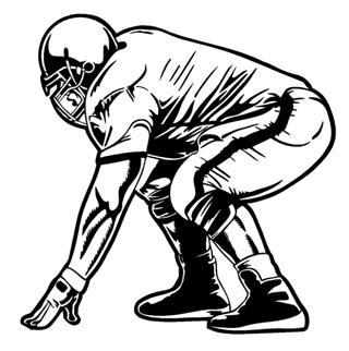 320x322 Football Offensive Lineman Clipart Nvsi