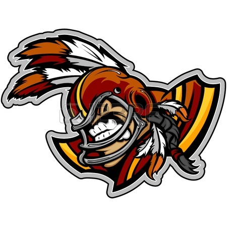 450x450 Graphic Lmage Of A Mean Tought Football Mascot With Football