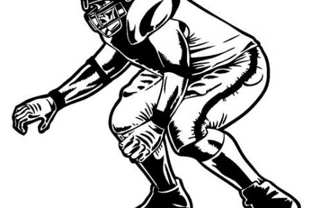 450x300 Football Lineman Clip Art