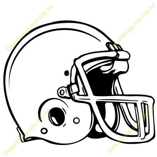 500x500 Image Of American Football Clipart