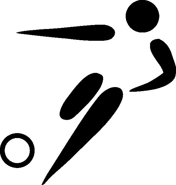 570x599 Olympic Soccer Logo Clip Art