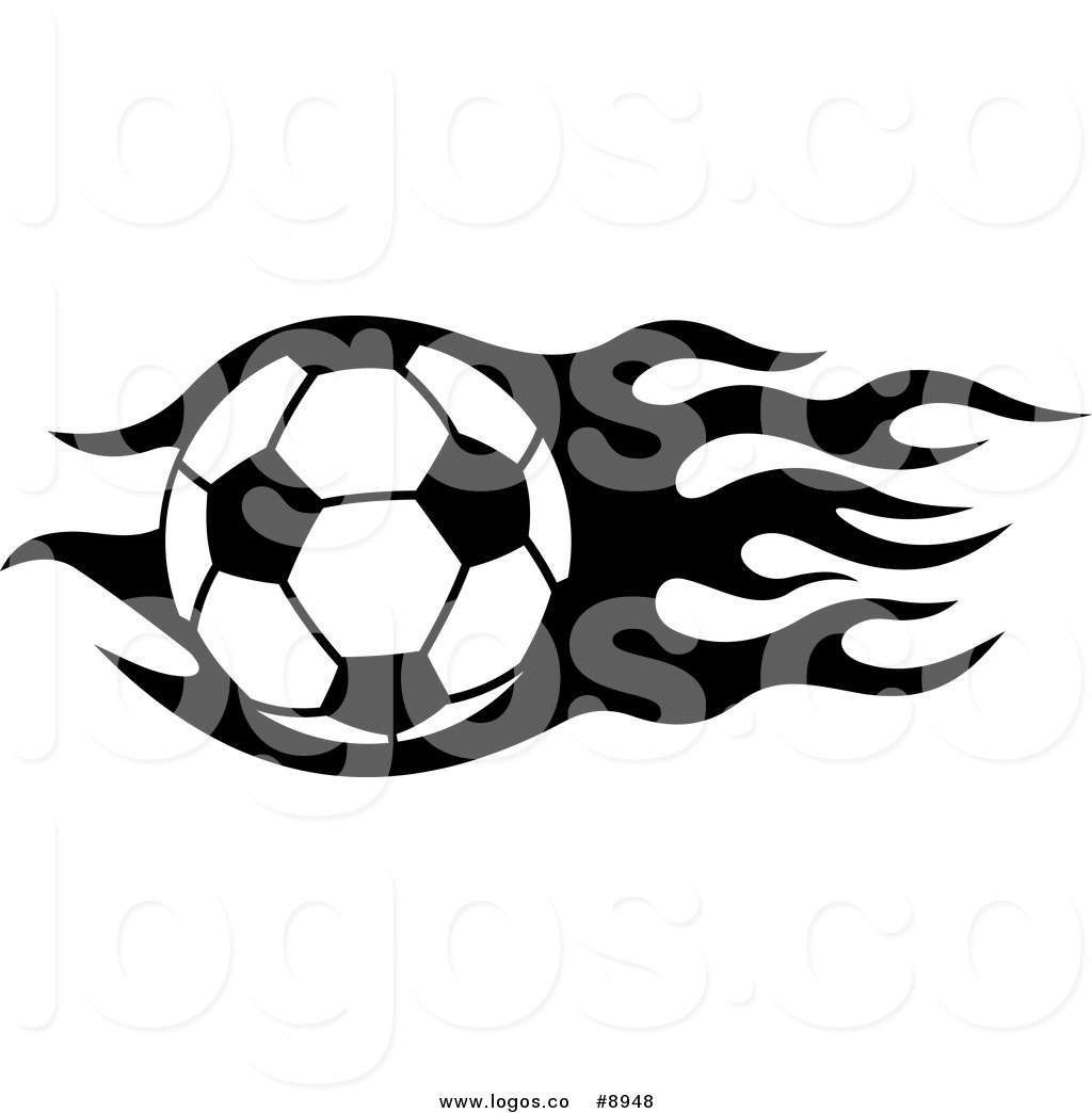 1024x1044 Royalty Free Clip Art Vector Logo Of A Black And White Soccer Ball