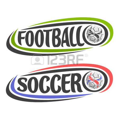 450x450 Vector Set Of Abstract Logos For Soccer, Shield For Football