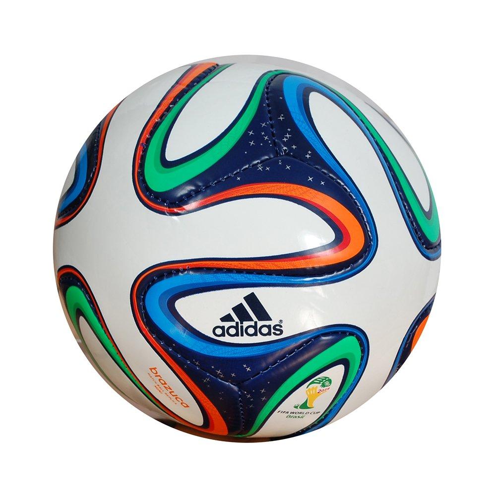 1000x1000 Adidas Mini Brazuca World Cup 2014 Football White