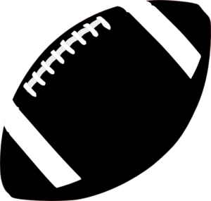 300x285 Football Outline Clipart 4