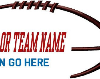 340x270 Football Outline Football Lace Outline Clipart