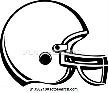 350x300 Helmet With Chin Gard Outline Clipart