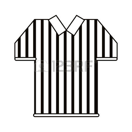 450x450 Jersey American Football Tshirt Uniform Outline Vector