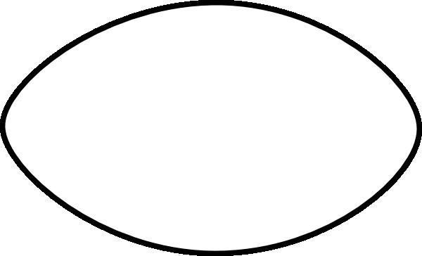 600x364 Thin Football Outline Clip Art Clipart Panda