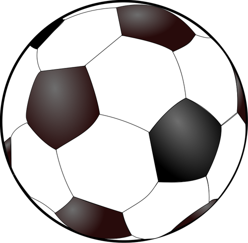 500x490 19162 Soccer Ball Clip Art Outline White Public Domain Vectors