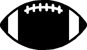 344x200 Vector Football Clipart