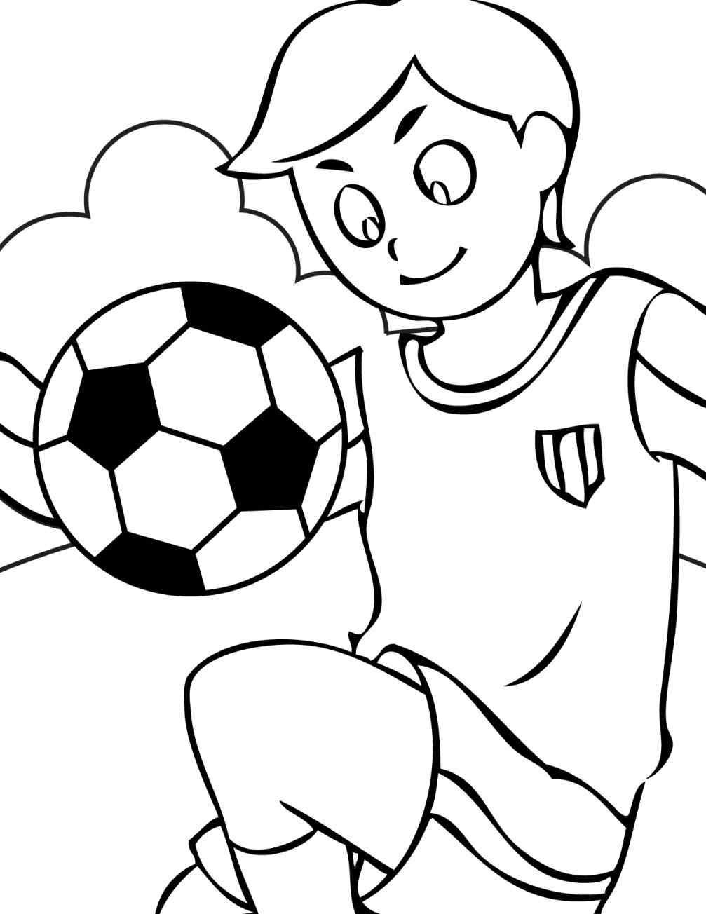 1007x1304 Coloring Pages For Boys Football Players Online Coloring Printable
