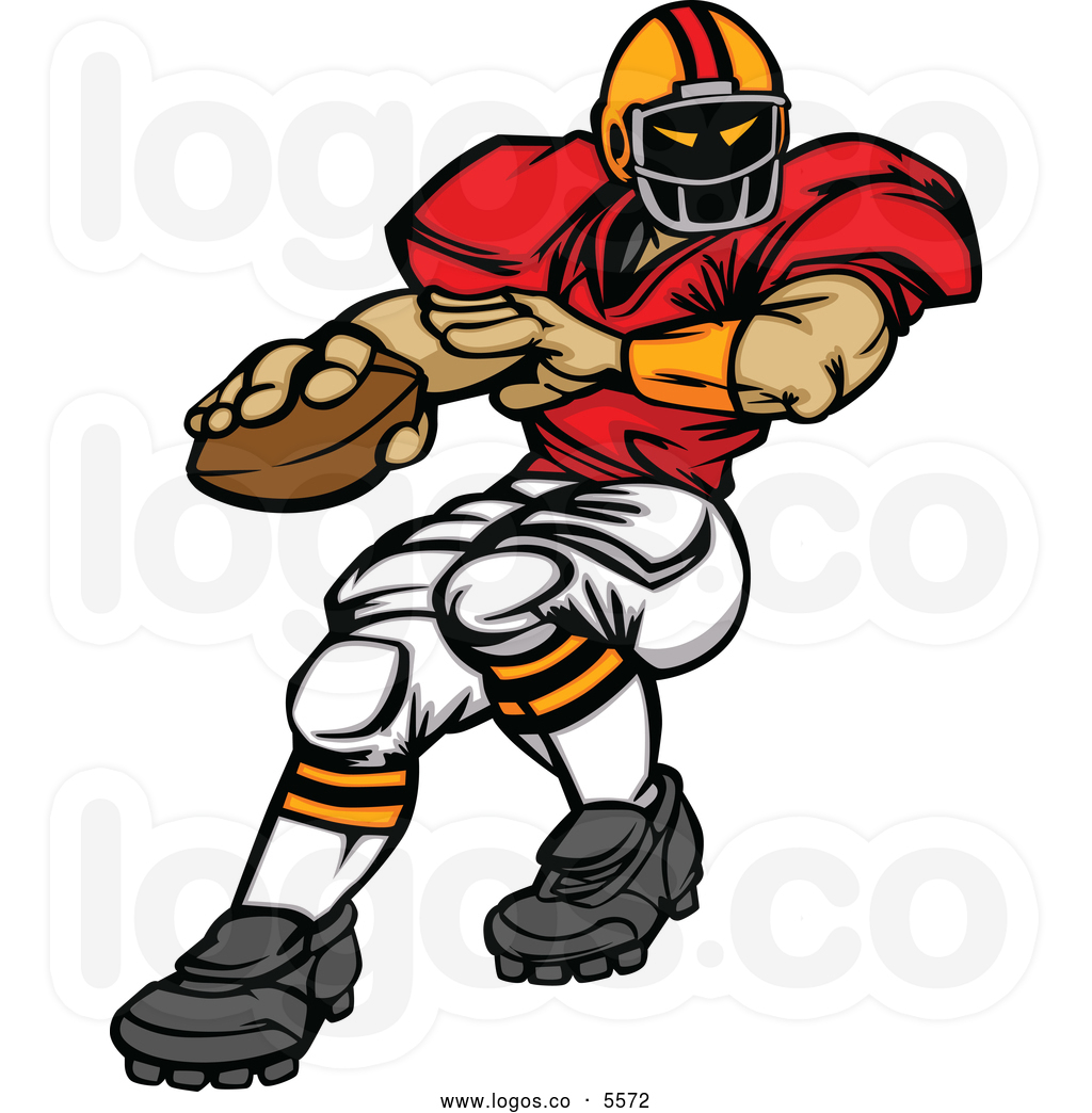 1024x1044 Football Players Clipart