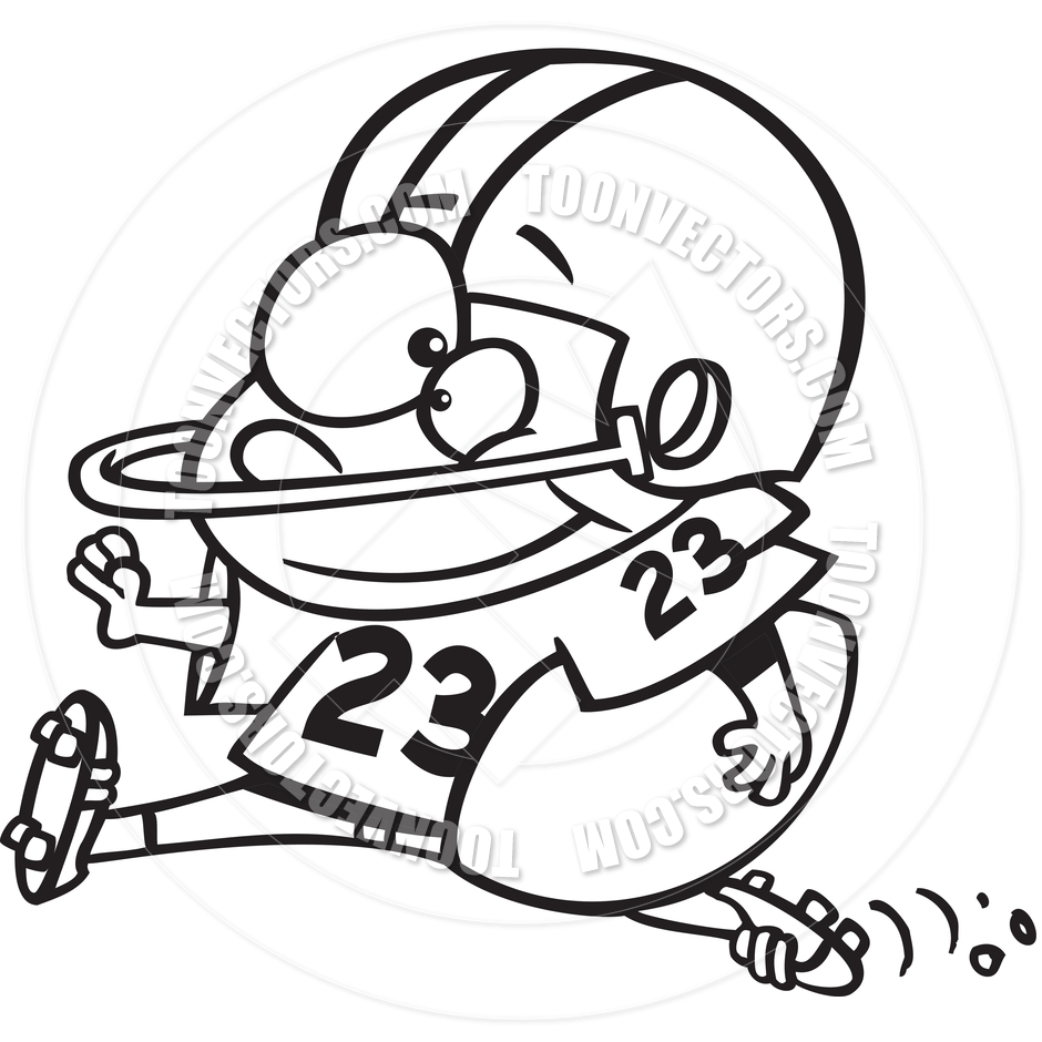 940x940 Best Football Player Clipart Black And White