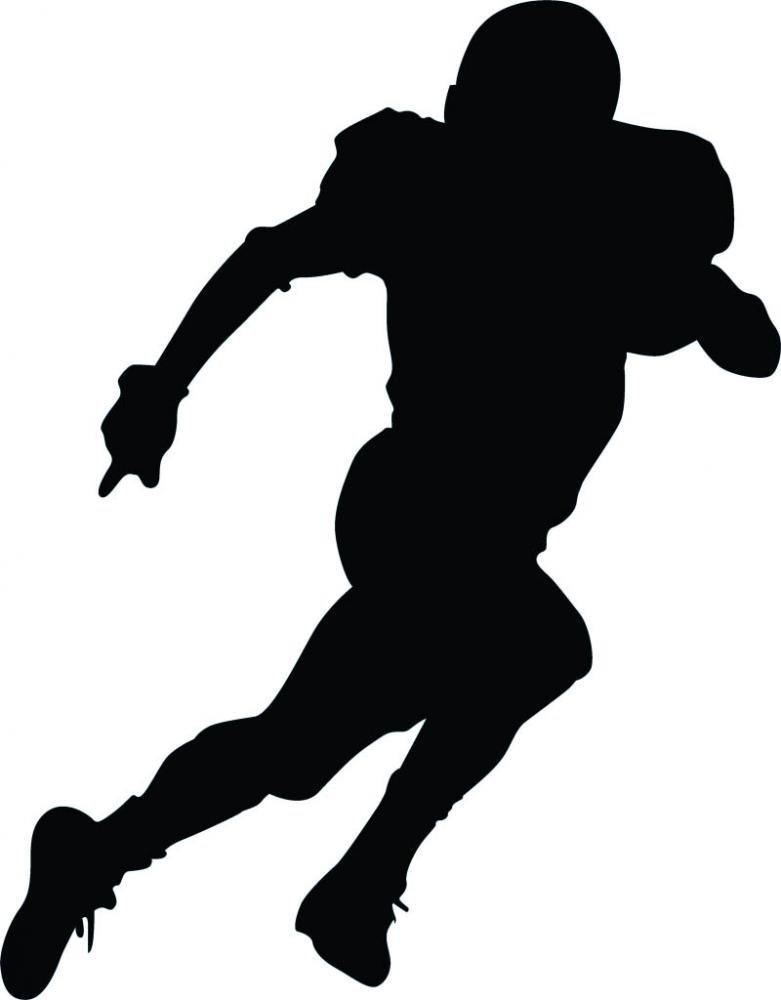 781x1000 Football Player Graphics