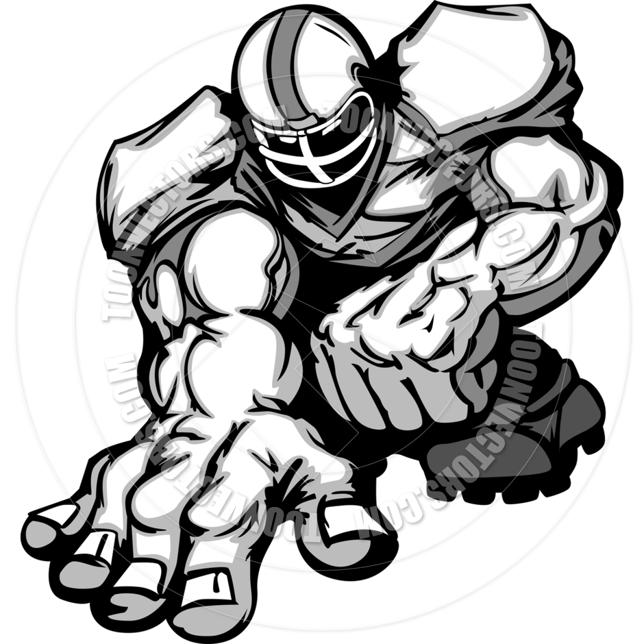 940x940 Football Player Silhouette Clipart