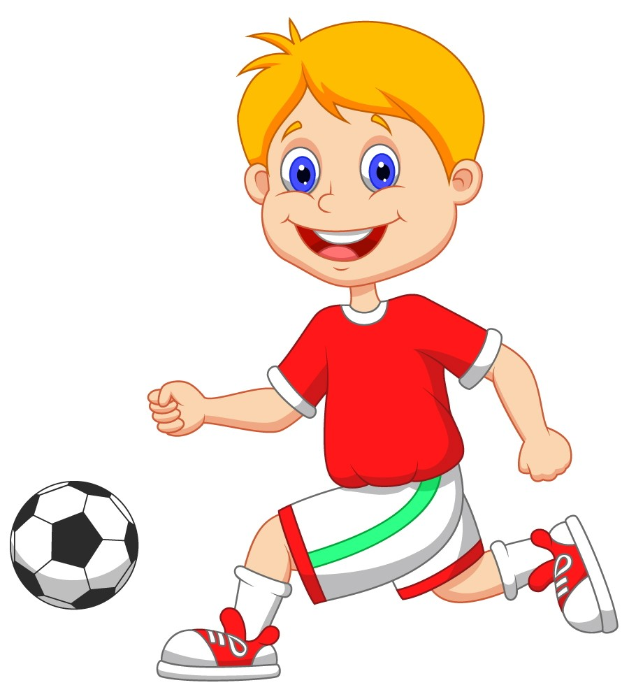 900x1000 Free Kids Soccer Clipart Image