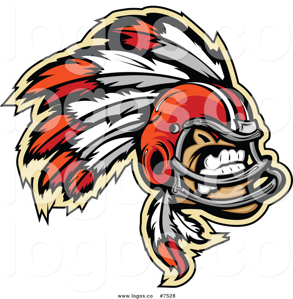1024x1044 Royalty Free Clip Art Vector Logo Of A Chief Football Player By