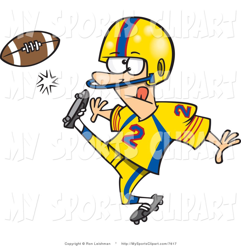 1024x1044 Clipart Football Player Kicking Clipart Panda