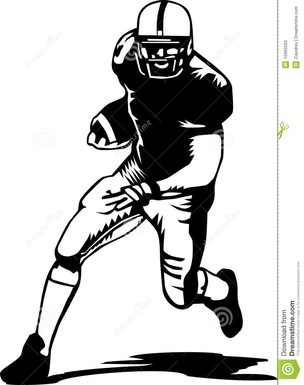 1028x1300 Vintage Football Player Clipart