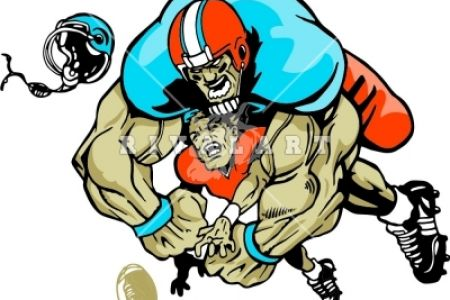 450x300 Football Tackle Clip Art, Football Tackle Clip Art