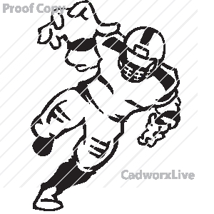 300x300 Football clipart defensive line